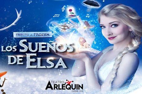 """Una entrada al musical """"Los Sueños de Elsa"""" del 19/12/2020 al 31/01/2021 en Teatro Arlequín Gran Vía"""