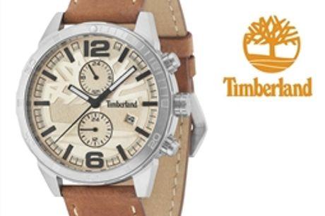 Relógio Timberland® Sagamore Beige | 5ATM por 115.50€ PORTES INCLUÍDOS