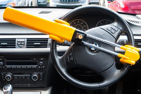 £16.99 instead of £49.99 for a twin bar steering wheel lock stop from VivoMounts - save 66%