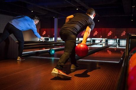 £10 instead of £21.50 for one game of bowling for one person at All Star Lanes including a burger of choice and fries - choose from four London locations and save 53%