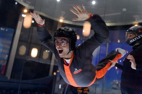 £34 for a 60-minute iFLY indoor skydiving experience and 'unlimited' assault course access at The Bear Grylls Adventure at the NEC, Birmingham