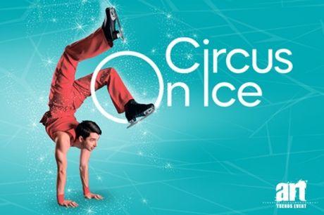 """2 Tickets für """"Circus on Ice"""" im Dezember 2021 und Januar 2022 in 18 Städten (bis zu 41% sparen*)"""