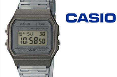 Relógio Casio® F-91WS-8EF por 37.49€ PORTES INCLUÍDOS