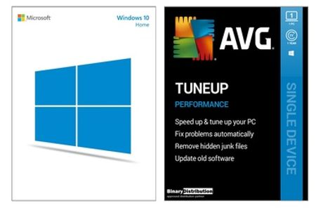 Microsoft Windows 10 Home or Pro Bundle for One PC