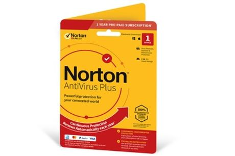 Norton AntiVirus Plus - 1 Device for One Year