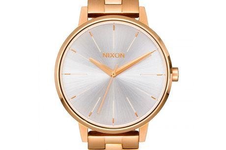 Nixon Kensington Gold/White Nixon er et amerikansk urmærke, der blev grundlagt med henblik på at skabe kvalitetsure, som ikke skulle være for dyre og uopnåelige. Nixon laver kvalitetsure, der er perfekte til alle lejligheder - Er du på udkig efter et ur,