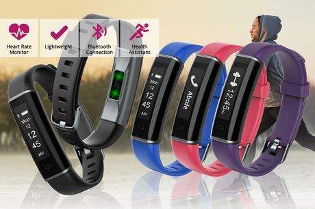 £14.99 for a fitness tracker with heart rate monitor from Avant Garde