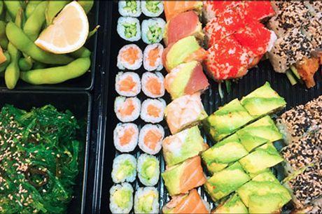 Nytårsmenuer - Super priser på takeaway.. - Det bliver en fantastisk aften med lækker takeaway sushi. 44 stk. eller 56 stk. værdi op til kr. 601,-