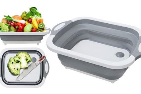 Recipiente de cocina multifunción con 3 niveles de apertura