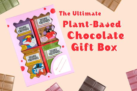 £9 instead of £16 for a vegan chocolate pick and mix gift box from Fellow Creatures - save 44%