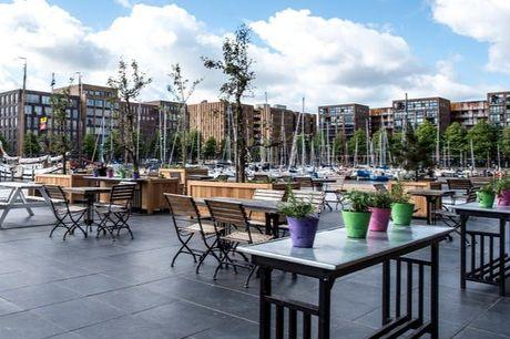 Amsterdam mit Blick aufs Meer - Kostenfrei stornierbar, Four Elements Hotel Amsterdam, Niederlande - save 39%