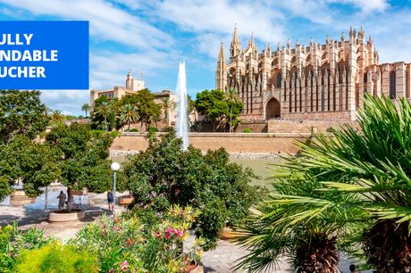 £269 -- 5-star Palma hotel: 2 nights w/extras, save 54%