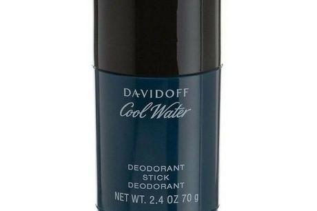Davidoff Cool Water Men Deodorant Stick 70 gr.. Davidoff Cool Water Men Deodorant Stick, har den samme friske og aromatiske duft, som Davidoff Cool Water Men EDT. Det er en bølge af friskhed, der giver dig styrke, energi og dyb sensualitet. Det er en mask