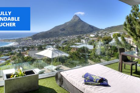 £169 & up -- Cape Town: boutique stay at Camps Bay, 49% off