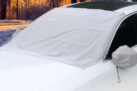 1 o 2 juegos de cubiertas magnéticas para parabrisas, espejos y/o traseras de los coches
