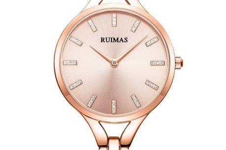 Ruimas RS562LRE-0N0 Ruimas ure er unikke, ekstravagante og tør skille sig ud fra mængden. Deres design er nytænkende indenfor urbranchen og de udfordrer det traditionelle design. Tør du skille dig ud fra mængden, så er Ruimas sikkert er perfekt match fo