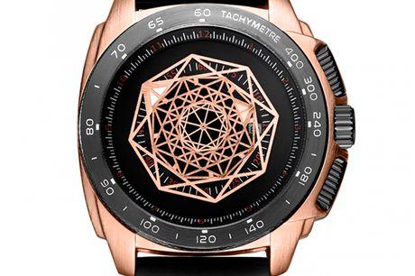 Ruimas RN554GRE-BK-1N0 Ruimas ure er unikke, ekstravagante og tør skille sig ud fra mængden. Deres design er nytænkende indenfor urbranchen og de udfordrer det traditionelle design. Tør du skille dig ud fra mængden, så er Ruimas sikkert er perfekt match