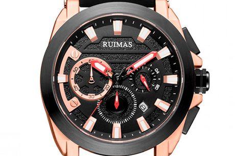 Ruimas RN580GRE-BK-1N0 Ruimas ure er unikke, ekstravagante og tør skille sig ud fra mængden. Deres design er nytænkende indenfor urbranchen og de udfordrer det traditionelle design. Tør du skille dig ud fra mængden, så er Ruimas sikkert er perfekt match