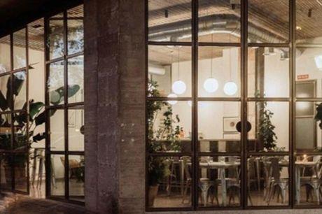 Menú tradicional o prémium español para 2 personas con entrante, principal, postre y bebida en Nuro Madrid