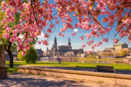 """Die """"Barockstadt"""" Dresden: Ein Zentrum kultureller und wissenschaftlicher Innovation!. Von Mai bis Juli2021 buchbar! Dresden hat im Frühling und Sommereinenbesonderen Zauber"""