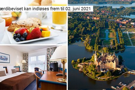 Få 3 overnatninger med aftenbuffet, morgenbuffet og meget mere på det 4-stjernede Hotel Wyndham Garden lige uden for Wismar - glæd dig til at opleve Østersøen og den historiske by