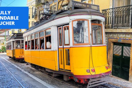 £65 -- Stylish central Lisbon stay w/extras, save up to 52%