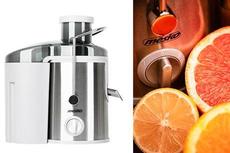 Med en juicer fra Mesko er det let og lækkert at lave din egen juice - inkl. fragt