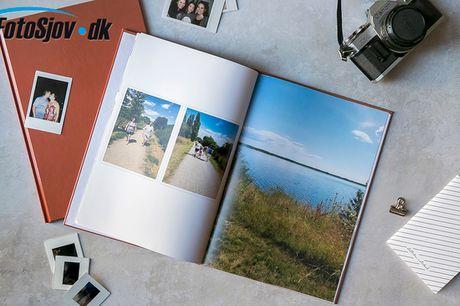 Fotobog med dine pletskud. Bring de gode minder frem igen og igen-  prisen er inkl. fragt!
