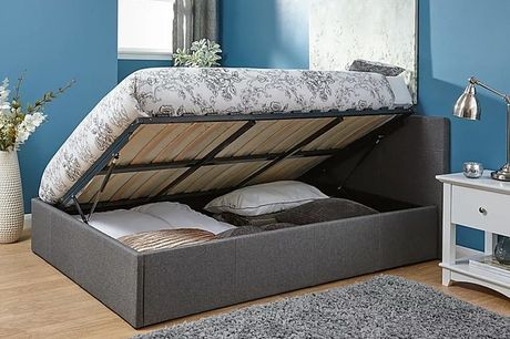 From £165 instead of £399 for an ottoman gas-lift bed from FTA Furnishing - save up to 59%
