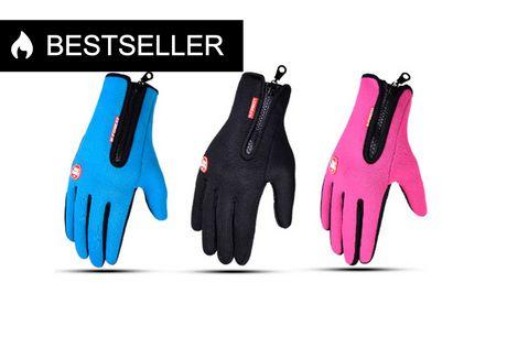 Lækre vind- og vandafvisende handsker med touch-funktion og i super lækker kvalitet!. Med disse lækre vind- og vandafvisende handsker, kan du holde dine fingre varme og tørre uanset hvilket vejr du begår dig ud i . Handskerne har ligeledes en praktisk tou