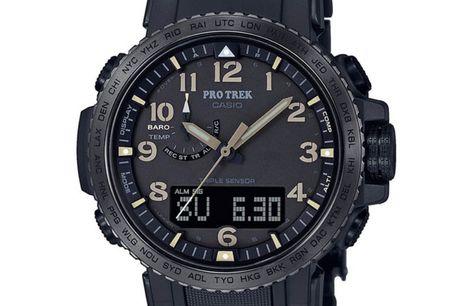 Casio Pro Trek PRW-50FC-1ER Ditur.dk er dansk autoriseret forhandler af Casio ure. Brandet Casio blev grundlagt i Japan i 1946 og blev i 1957 introduceret til resten af verden på baggrund af deres opfindelse af verdens første elektroniske lommer