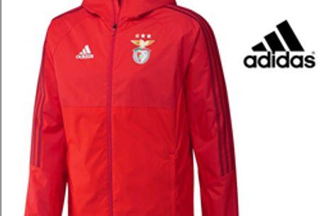 Adidas® Casaco Homem Benfica Oficial - XL por 42.90€ PORTES INCLUÍDOS