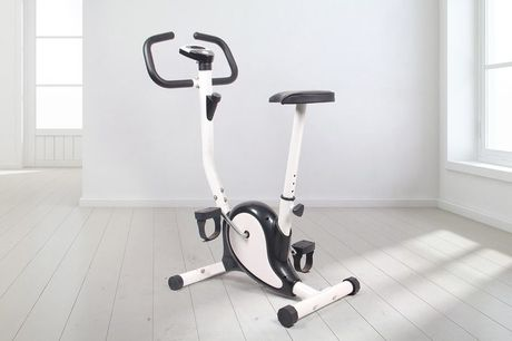 £59.99 for an exercise bike in black, green, yellow, blue or grey!