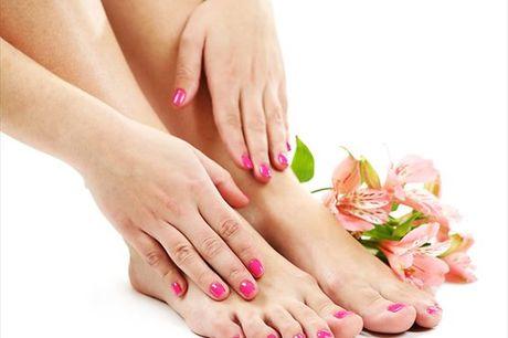 Dê cor e durabilidade às suas unhas dos pés e das mãos. No Tempo das D'ivas, Gelinho para mãos e pés para 1 pessoa por apenas 34,9€