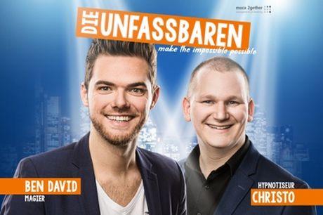 """""""Die Unfassbaren - Make the impossible possible"""" - die neue Show ab 30.9.21 in 32 Städten (44% sparen)"""