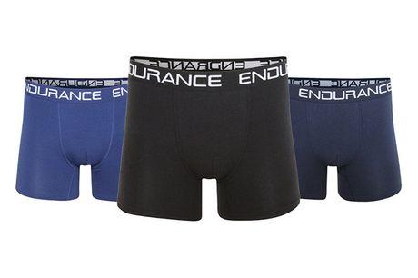 Fyld skuffen med bløde og komfortable Endurance bambus-boksershorts med optimal pasform - inkl. fragt