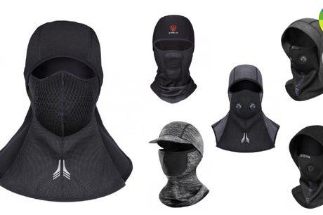 Vindtæt 2-i-1 hue med maske der holder dig varm i de kolde måneder