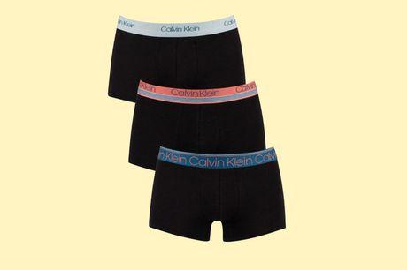 Set van 3 Calvin Klein boxers Op zoek naar topkwaliteit boxershorts? Deze Limited edition boxershorts van Calvin Klein zijn niet alleen een lust voor het oog, ze zitten ook nog eens super comfortabel!