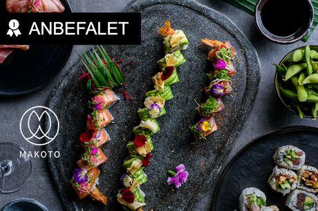 Sushi fra nyåbnet Makoto. Her kræses der for detaljen, og kvaliteten er i top - Vælg mellem to menuer