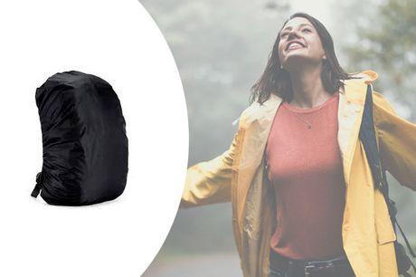 Med dette overtræk til din rygsæk behøver du aldrig bekymre dig om at få en regnvejrsvåd taske igen - inkl. fragt