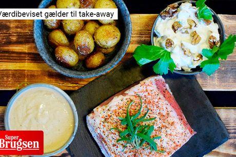 Smid forklædet og hent en lækker 3-retters middag med appetizer hos SuperBrugsen i Mårslet. Menuen er fyldt med velsmag, gode råvarer og solidt håndværk