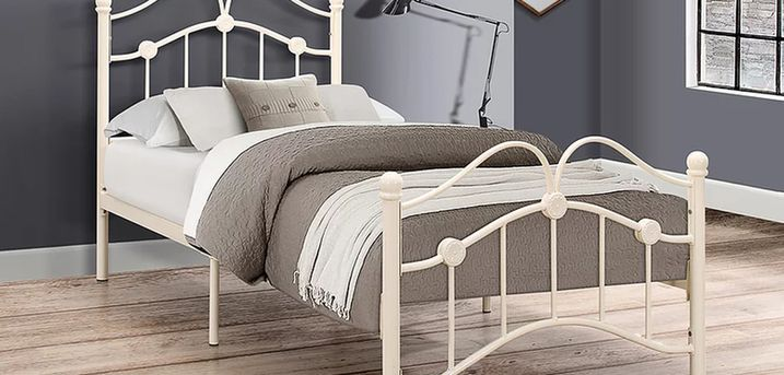 From £99 for a children's 3ft metal curved bed frame from FTA Furnishing - save up to 60%