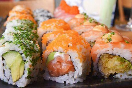40 stykker ud-af-huset luksus-sushi