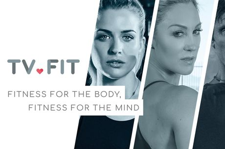 £4 instead of £7.31 for a two-month unlimited fitness class subscription with TRUCONNECT by TV.FIT featuring over 200 workouts including celebrity workouts with Gemma Atkinson and Helen Flanagan - save 45%