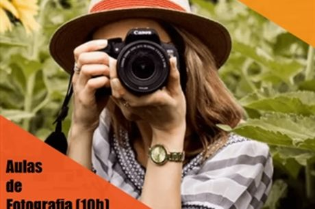 AULAS Teóricas e Práticas de FOTOGRAFIA com Certificado com Duração de 10H em Belém por 70€. Desfrute Valorizando os seus Conhecimentos .