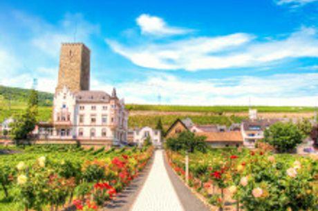 Weinreise mit Freunden & Familie. Für November 2021 bis Januar 2022buchbar! Im schönen Rheintal empfängt Sie zwischen den Weinbergen Ihr gemütliches 4-Sterne Hotel Traube Rüdesheim