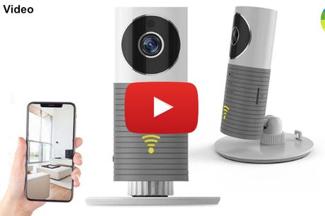 Intelligent WiFi overvågningskamera med bevægelsessensor