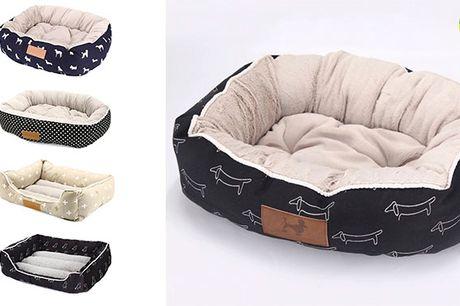 Ultra-komfortabel kæledyrsseng til din bedste ven