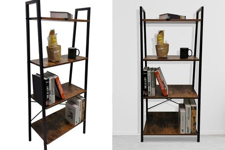 £34.99 for a four-tier industrial style ladder shelf!