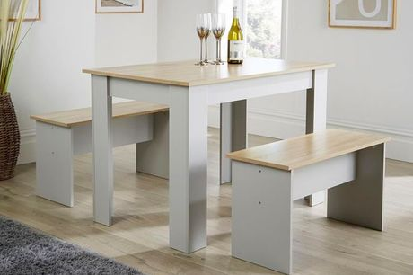 £69 for a langdale grey dining set from Big Furniture Warehouse!